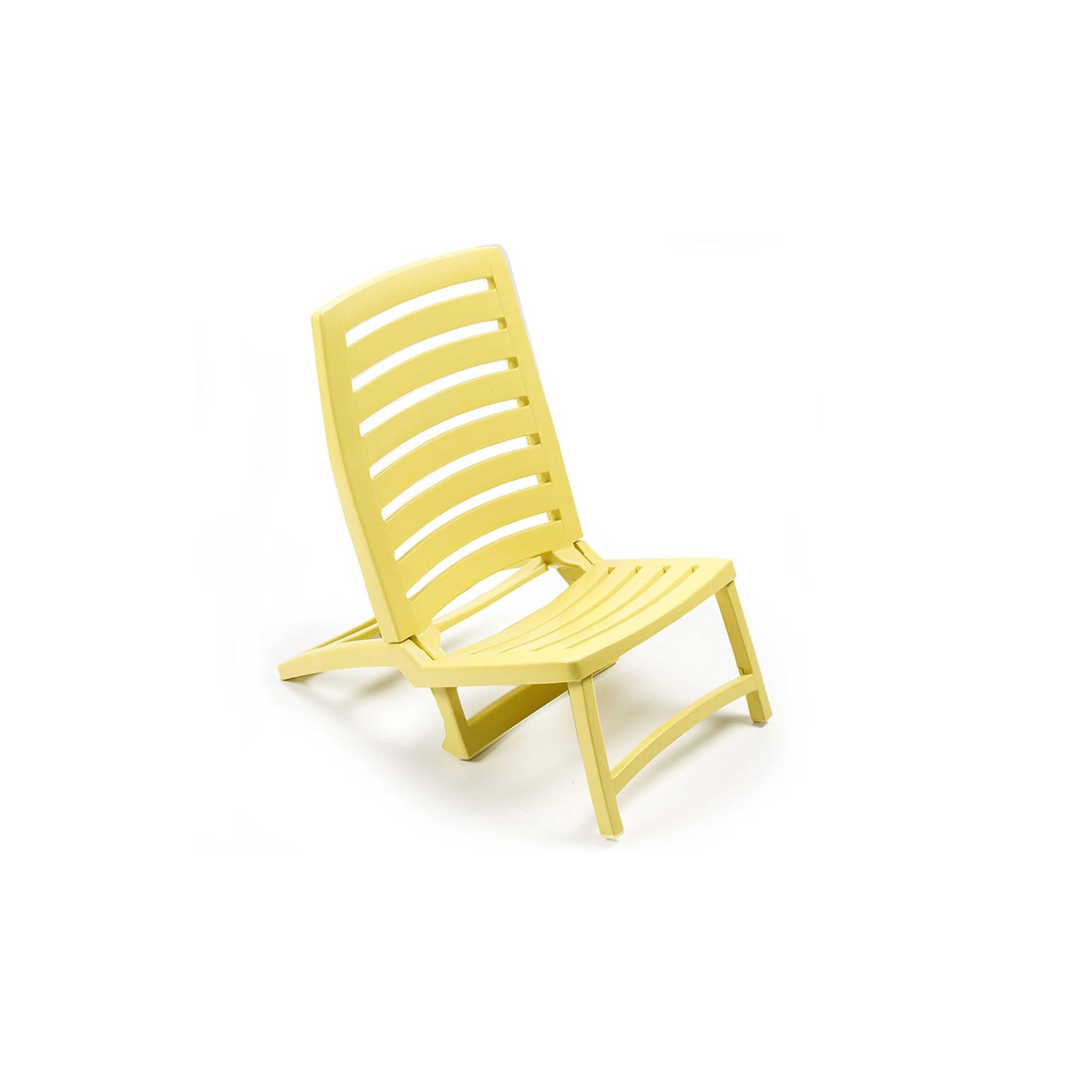 fauteuil pliant plastique   Oviala