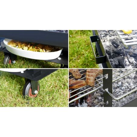 Grand brasero barbecue 30 couverts