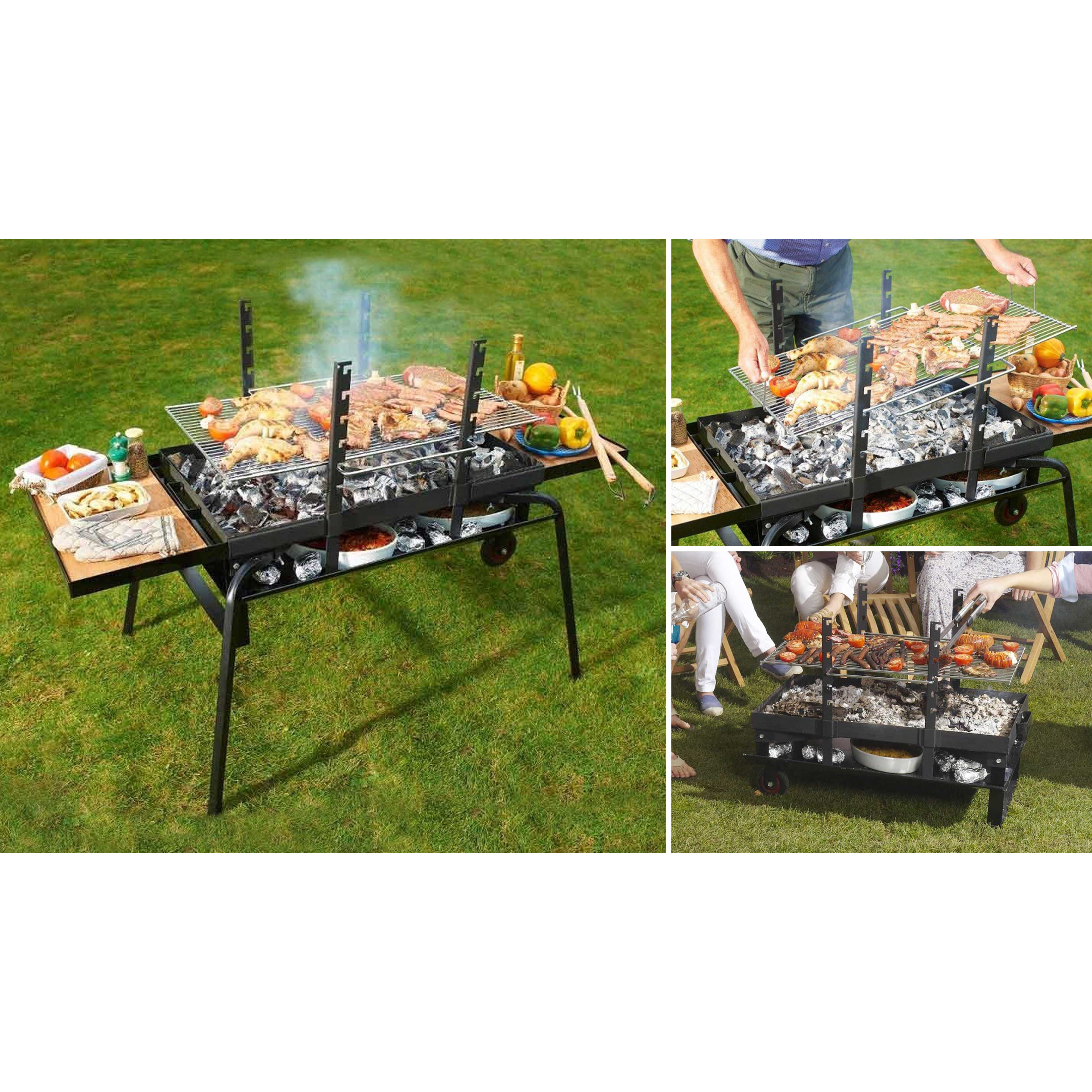 brasero barbecue géant   oviala