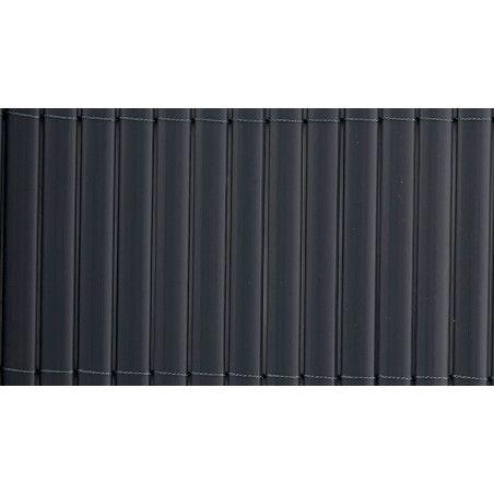 brise vue PVC double face 1600 g/m² gris foncé