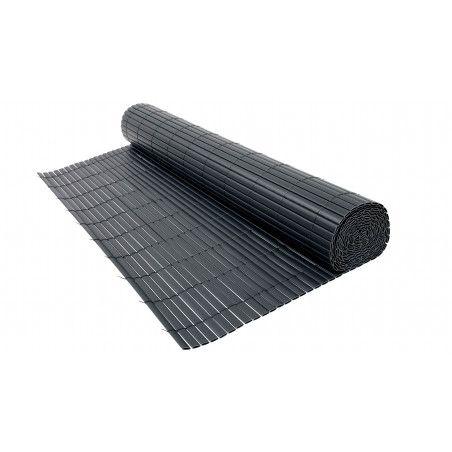 Canisse PVC gris foncé double face 1600 g/m²