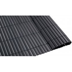 Canisse PVC double face 1600 g/m² gris foncé
