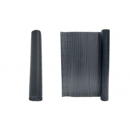 Rouleau Canisse PVC double face 1600 g/m² gris foncé