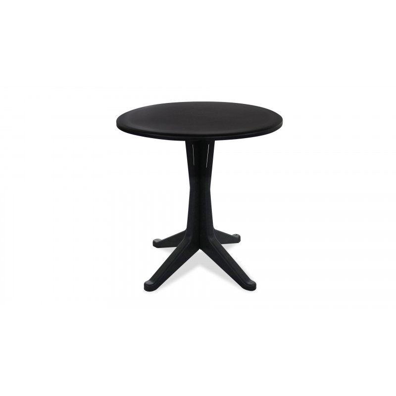 table ronde plastique