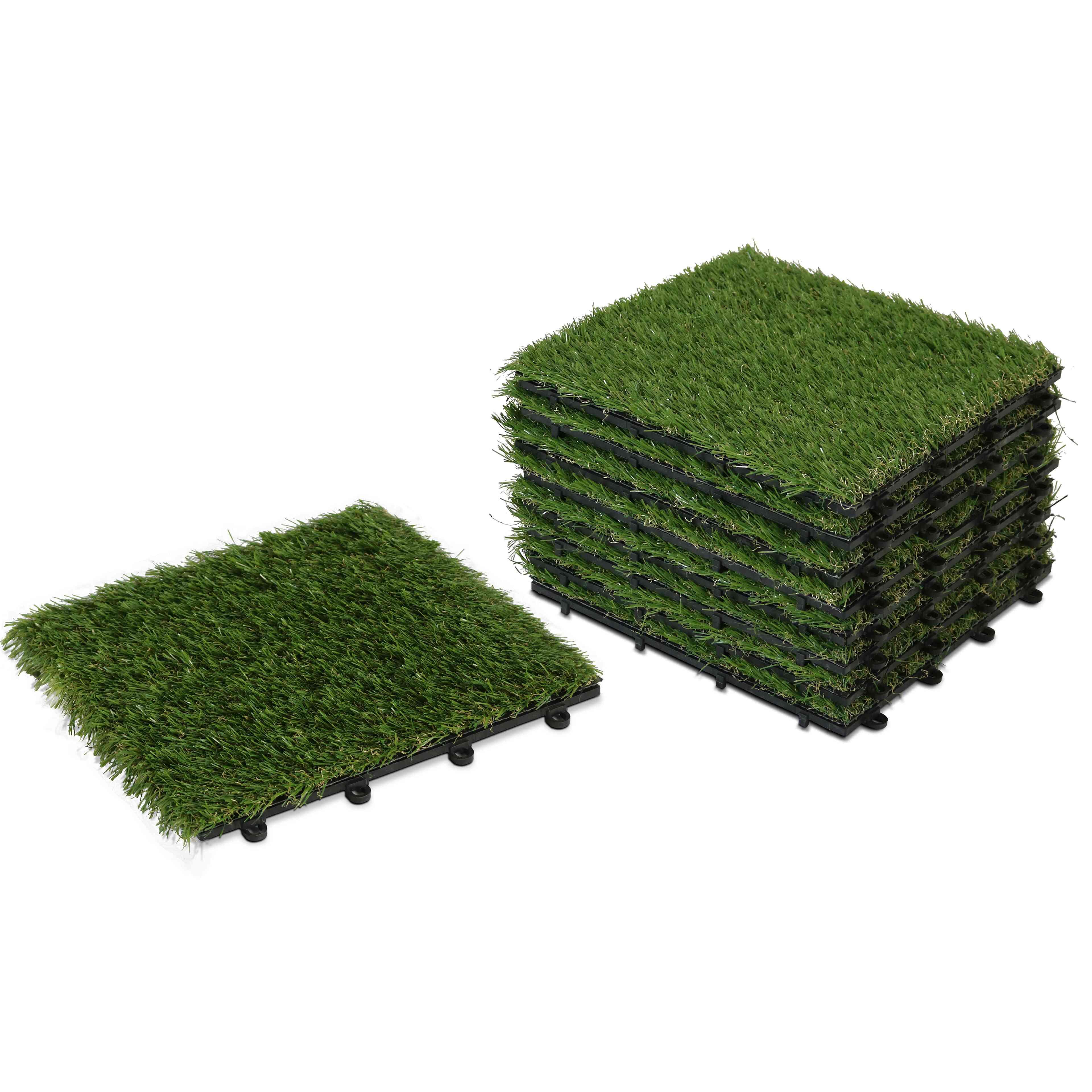 Gazon Synthetique Sur Terrasse Bois dalle clipsable gazon synthétique
