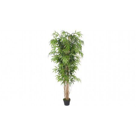 Arbre artificiel avec pot bambou 180cm