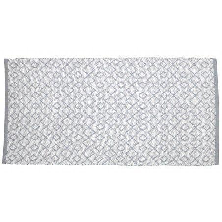 Tapis jardin gris clair PVC Solys