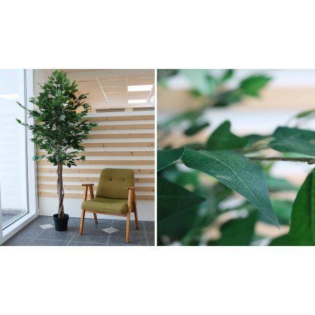 Plante artificielle avec pot ficus 180cm