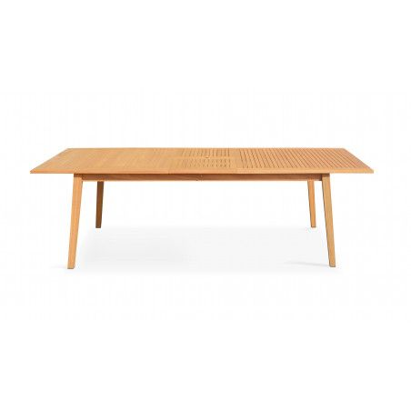 Table de jardin en bois extensible | CHICAGO