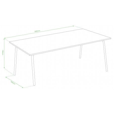 Schéma technique table PALAVAS