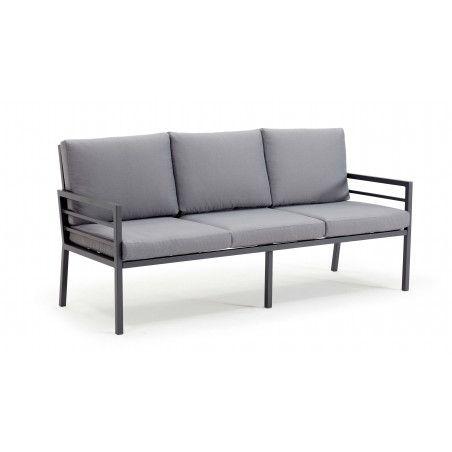 Salon de jardin, 2 canapés, 2 fauteuils, 1 table basse