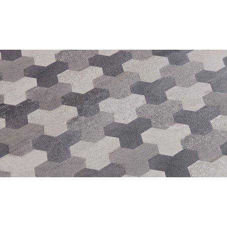 Zoom matière table d'exterieur en aluminium et céramique motif Tripod