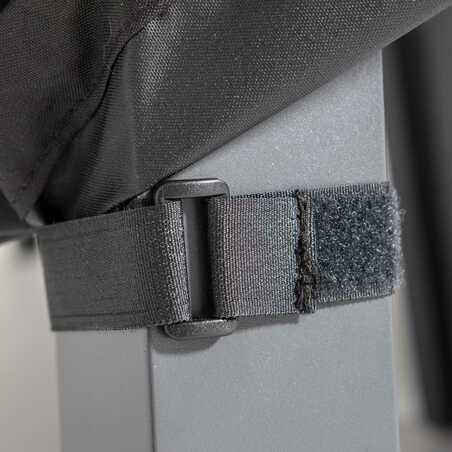Housse de protection chaise de jardin noire   COV'UP