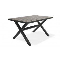 Table de jardin en polywood | TIRANA