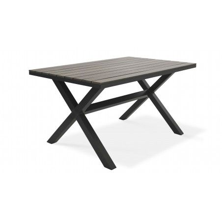 Table de jardin en polywood | TIRANA