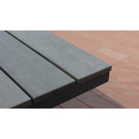 Zoom plateau en polywood (bois composite)