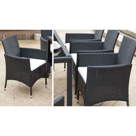 fauteuils de jardin résine | HENDAYE
