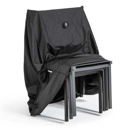 Housse de protection chaise de jardin noire