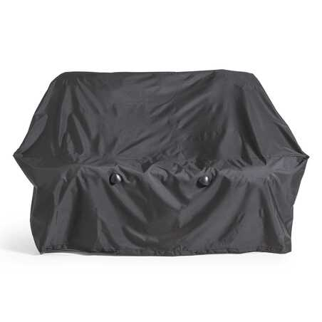 Housse de canapé extérieur noire 170 x 90 x 60 cm