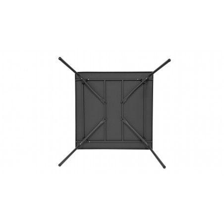 Table grise en métal indus