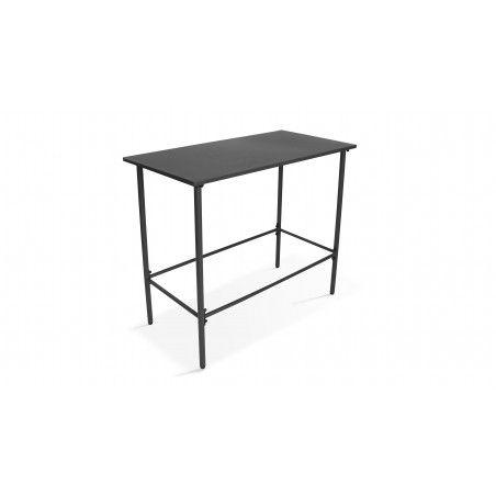 Table bar en métal et 6 tabourets