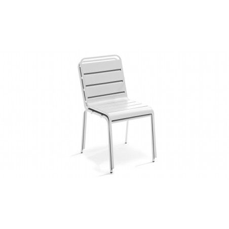 CHaise blanche indus