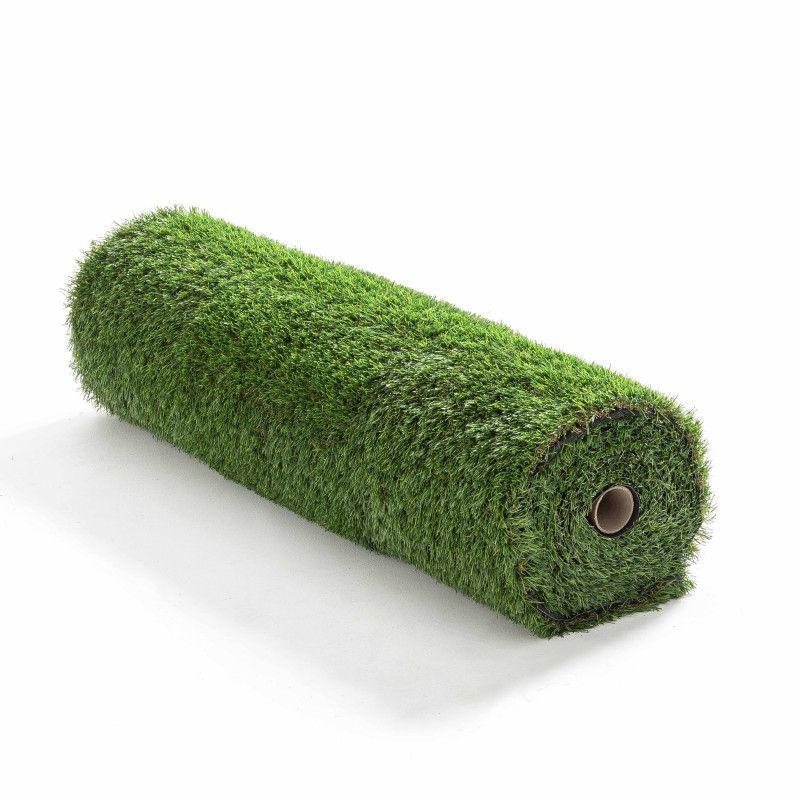 Gazon synthétique 2 couleurs brin d'herbe