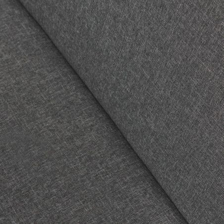 Zoom coussin gris anthracite transat luxe galapagos