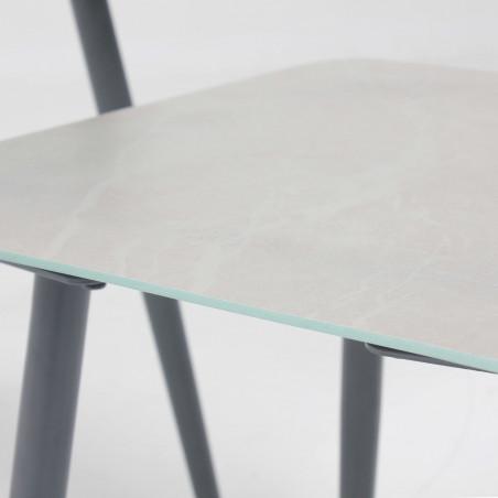 Grande table basse et petite table basse jardin