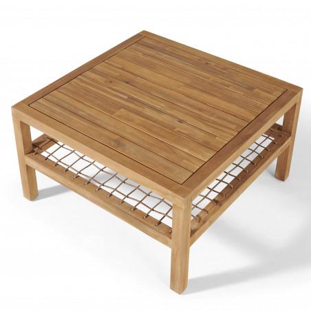 Table basse seychelles en bois Acacia