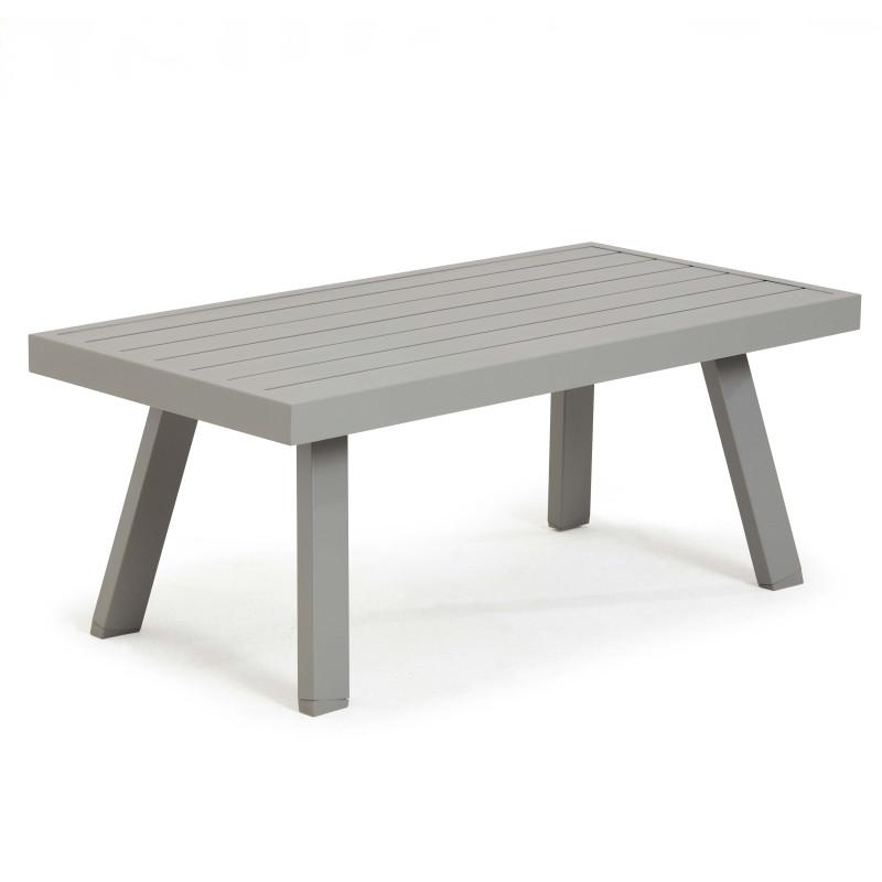 Table basse en aluminium St Tropez
