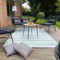 Grand tapis PVC pour salon de jardin