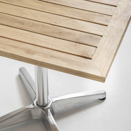 Focus table café plateau bois