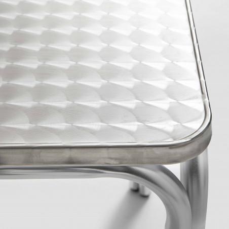 Focus plateau table bistro en aluminium