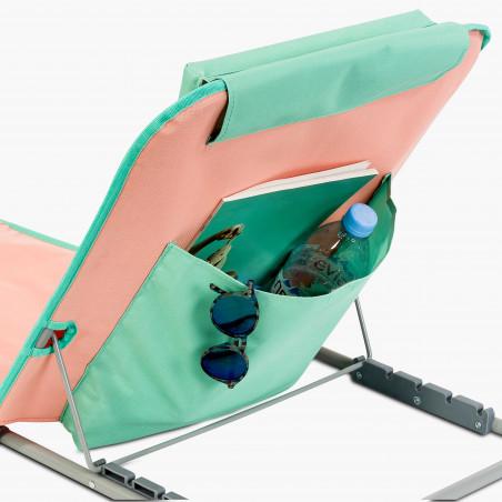 Pochette de rangement matelas de plage ORANGE