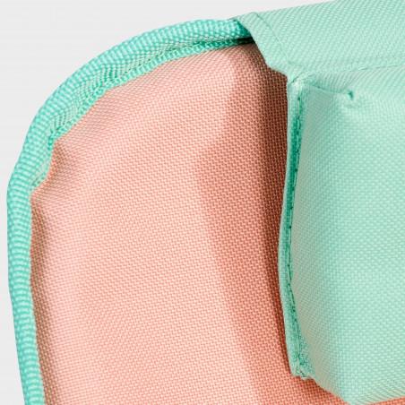 Focus tissu et coussin matelas Clic clac des plages ORANGE