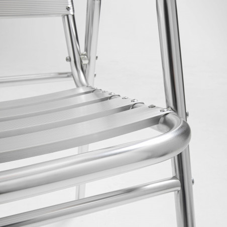 Focus assise chaise bistro alu