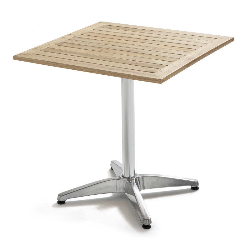 Table carrée en bois 4 places CHR bistro