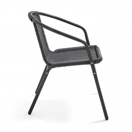 Chaise empilable terrasse café brasserie