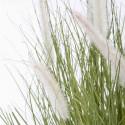 Focus plante artificielle herbe folle Penninsetum