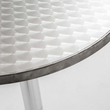 Focus plateau ange debout rond en aluminium