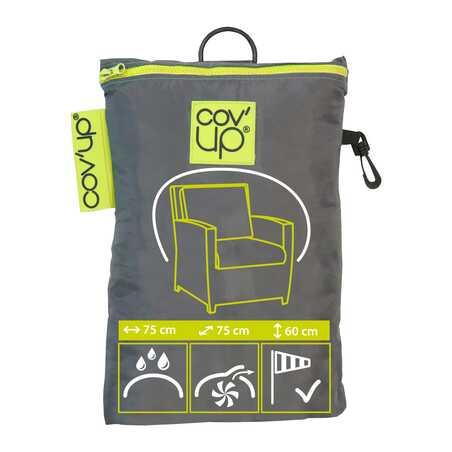 Housse de protection grise fauteuil de jardin Boutique jardin