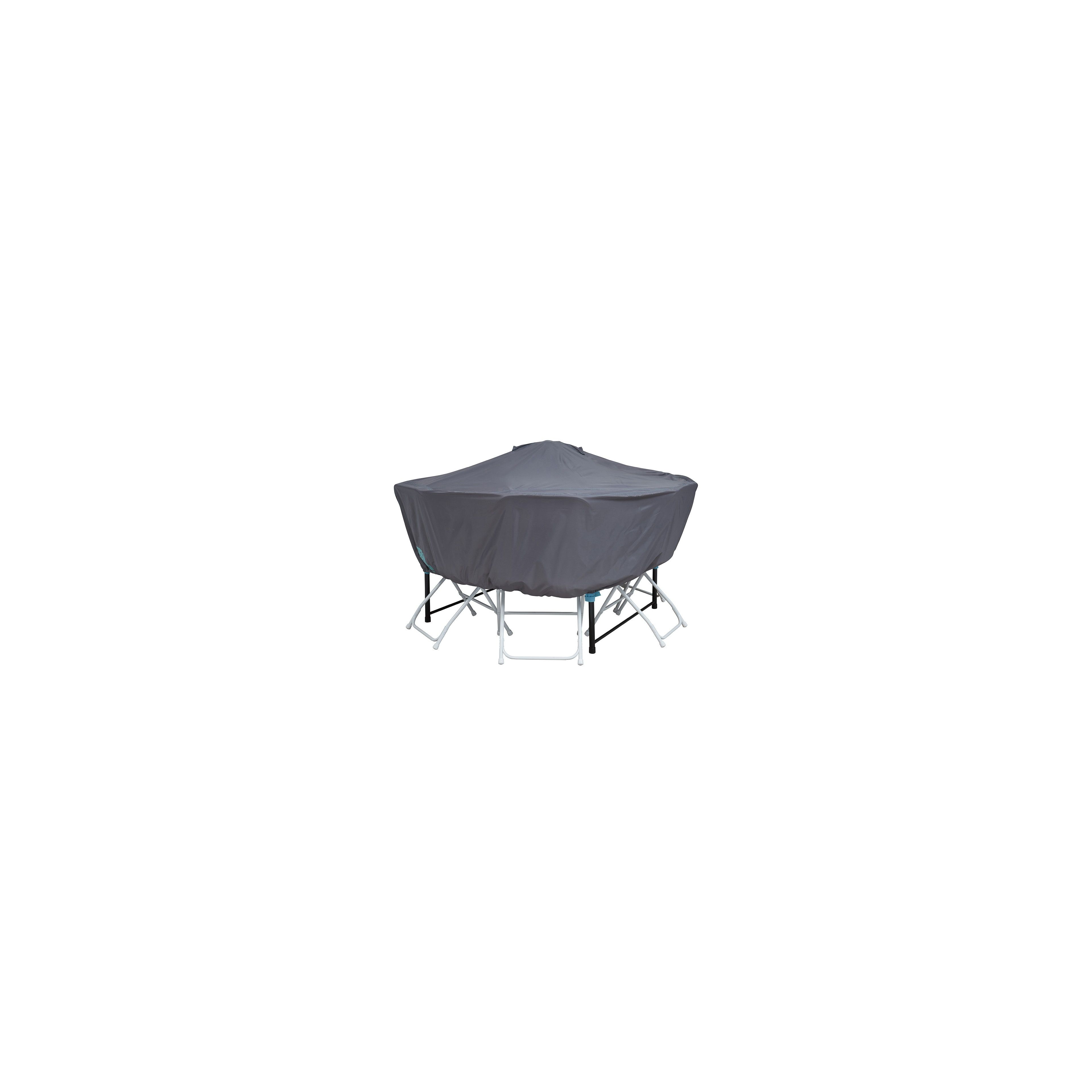 housse de protection table ronde 6 places 120 cm. Black Bedroom Furniture Sets. Home Design Ideas