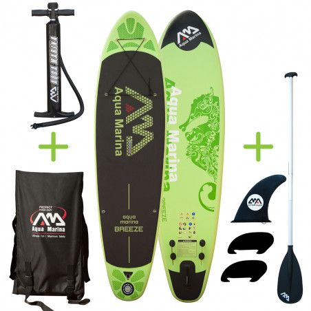 Stand up paddle gonflable Pack Sup Breeze kit complet