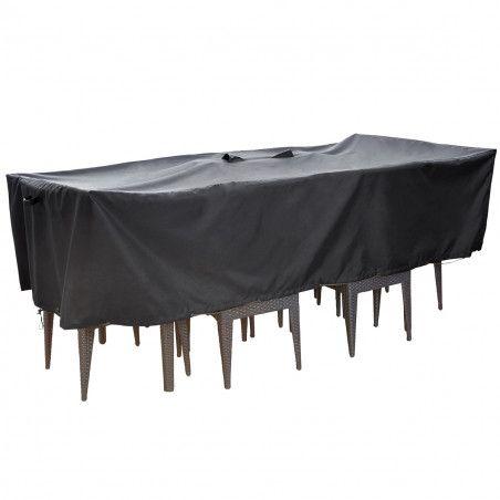 housse table jardin 240 x 120 cm housse salon jardin