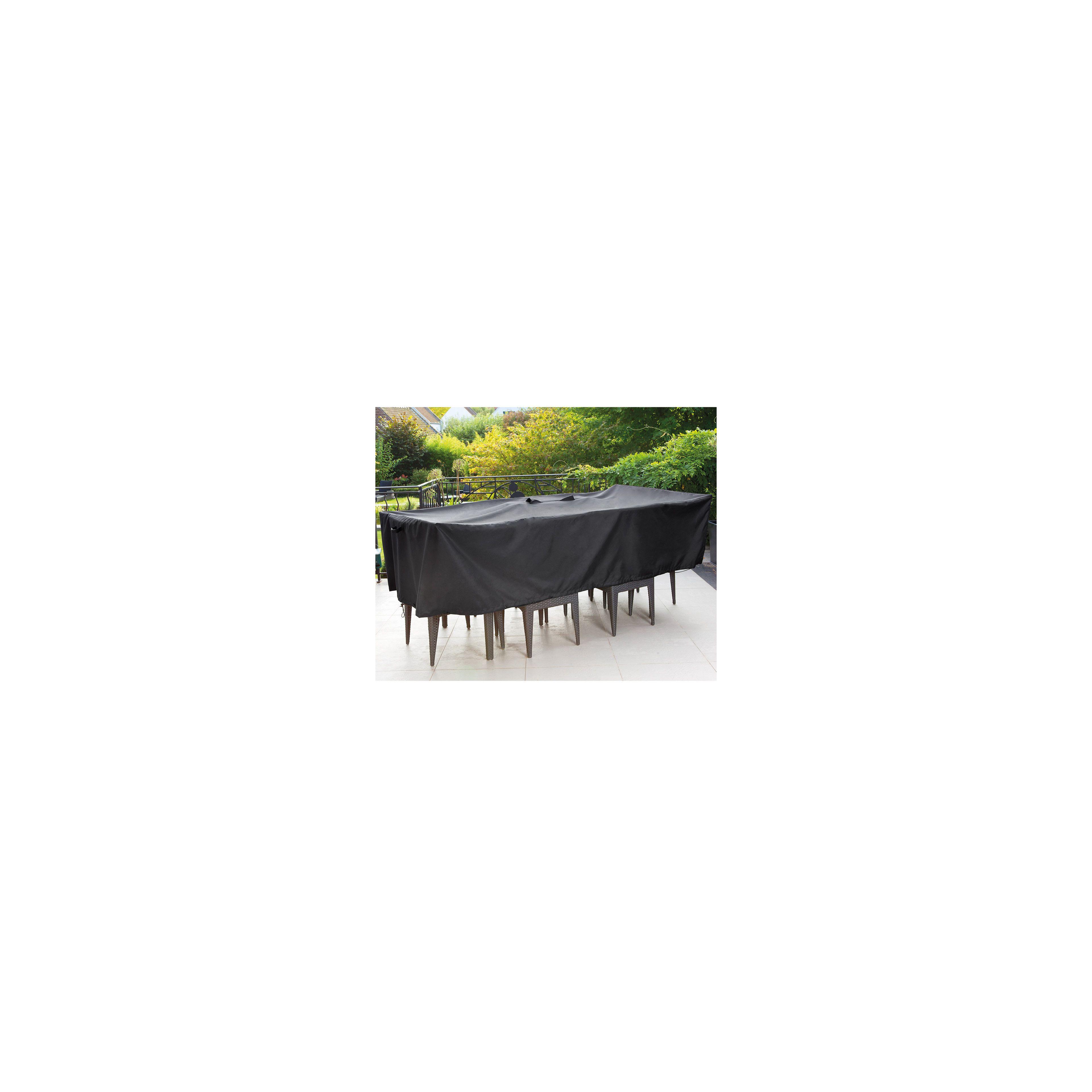 Housse de protection premium table de jardin | Oviala