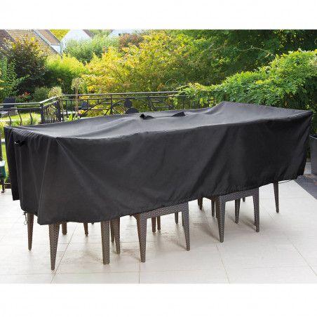 Housse de table de jardin 240 x 120 cm