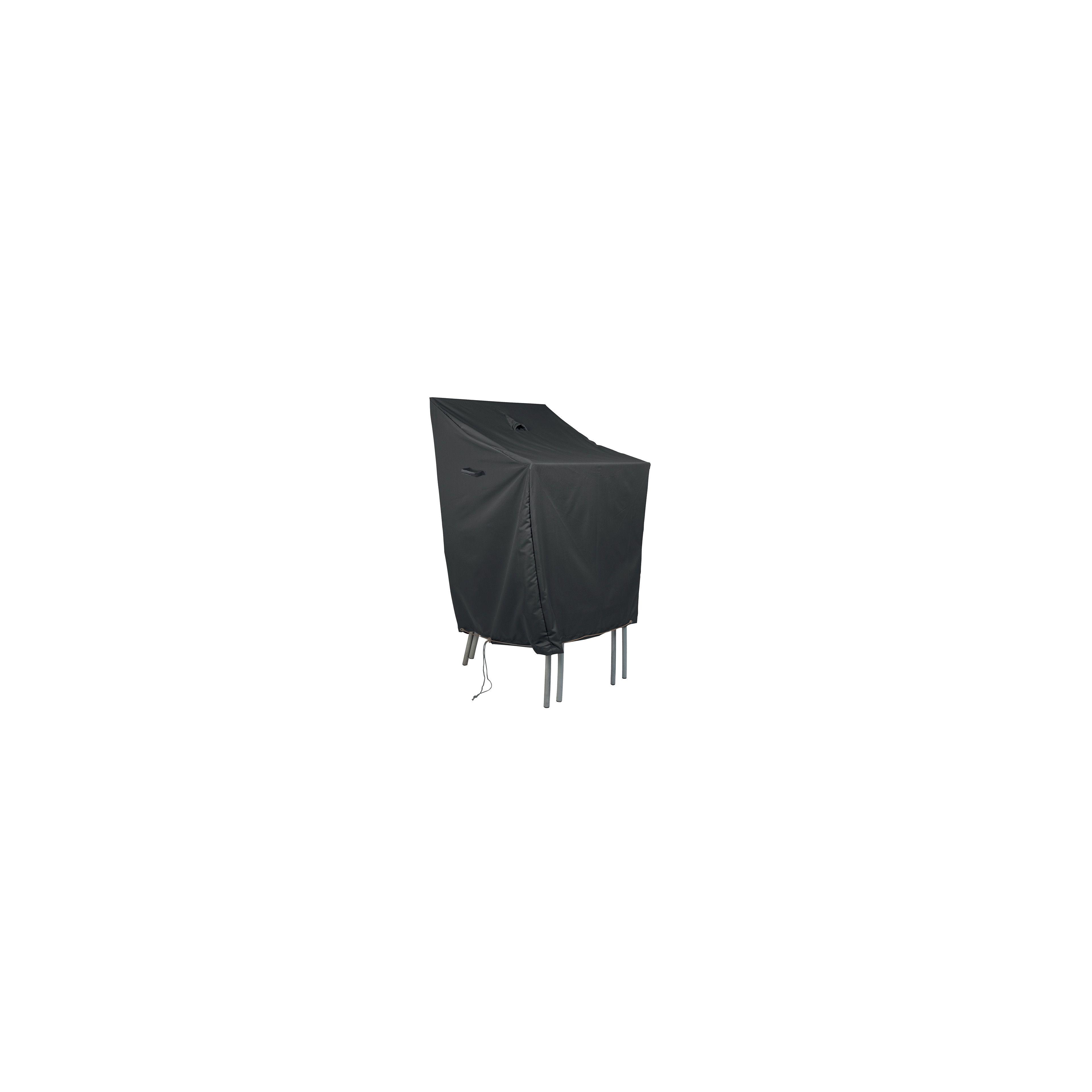 Housse de protection pour chaises empilables oviala - Housse de chaise de jardin ...