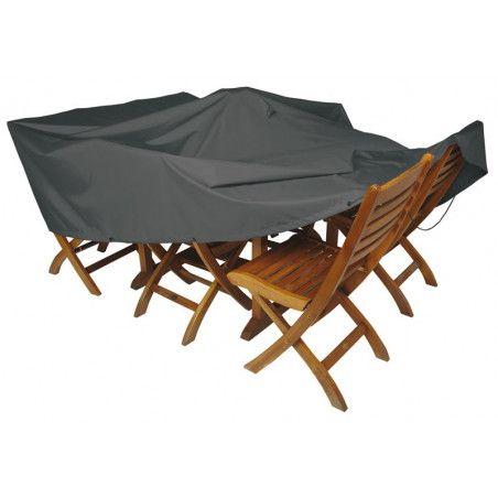 Housse de table de jardin 180 x 120 cm