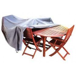Housse protection mobilier jardin - Oviala